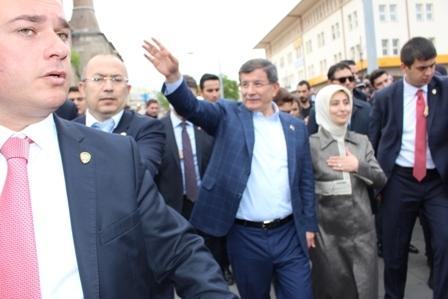 Ahmet Davutoğlu'nun Konya ziyaretinden kareler galerisi resim 22