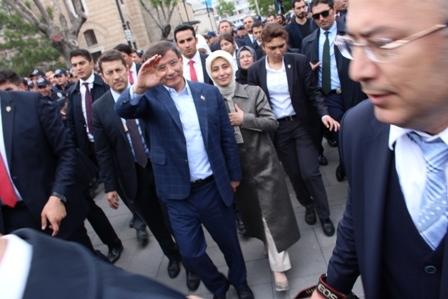 Ahmet Davutoğlu'nun Konya ziyaretinden kareler galerisi resim 23