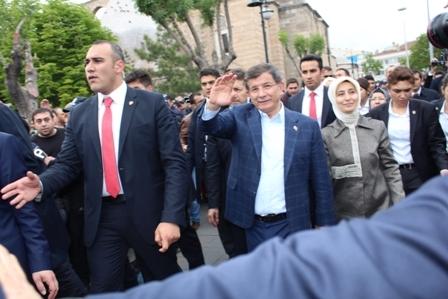 Ahmet Davutoğlu'nun Konya ziyaretinden kareler galerisi resim 24