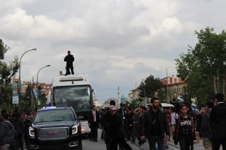 Ahmet Davutoğlu'nun Konya ziyaretinden kareler galerisi resim 25