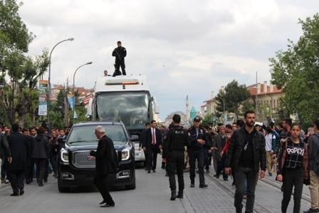 Ahmet Davutoğlu'nun Konya ziyaretinden kareler galerisi resim 26