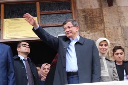 Ahmet Davutoğlu'nun Konya ziyaretinden kareler galerisi resim 3