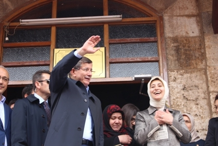 Ahmet Davutoğlu'nun Konya ziyaretinden kareler galerisi resim 4