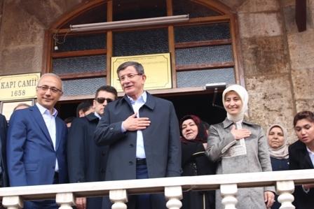 Ahmet Davutoğlu'nun Konya ziyaretinden kareler galerisi resim 5