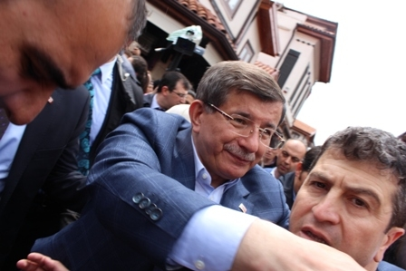 Ahmet Davutoğlu'nun Konya ziyaretinden kareler galerisi resim 8