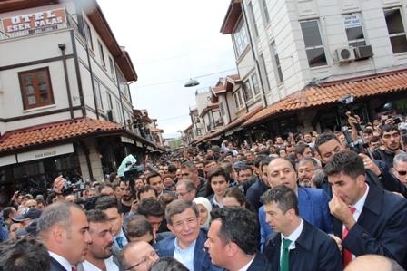 Ahmet Davutoğlu'nun Konya ziyaretinden kareler galerisi resim 9