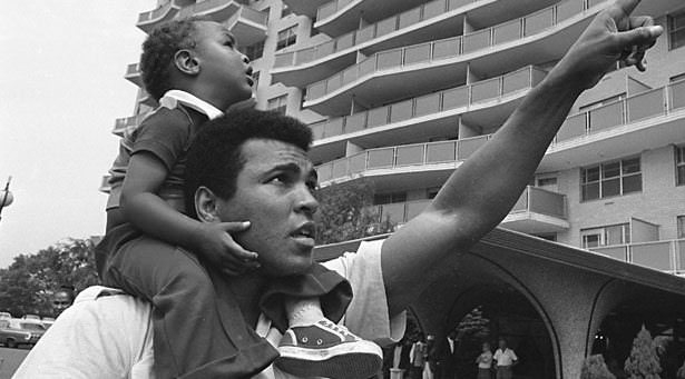 Efsane Boksör Muhammed Ali'nin hayatı galerisi resim 22