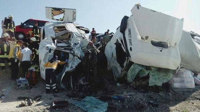 Konya'da feci kaza: 7 ölü galerisi resim 10