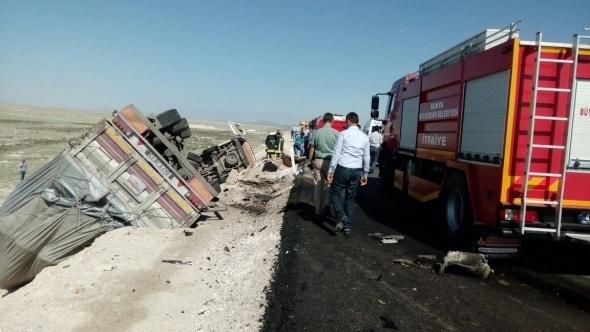 Konya'da feci kaza: 7 ölü galerisi resim 2