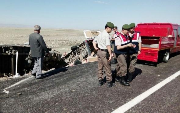 Konya'da feci kaza: 7 ölü galerisi resim 8