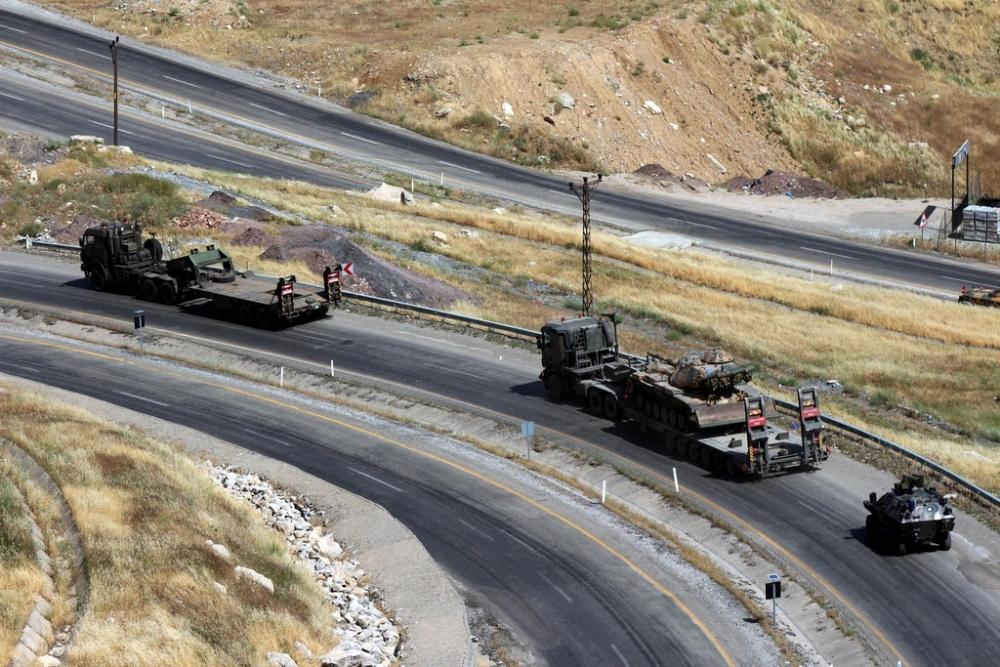 Tanklar üslerine geri dönüyor galerisi resim 16
