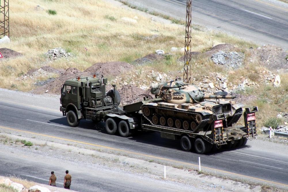 Tanklar üslerine geri dönüyor galerisi resim 20