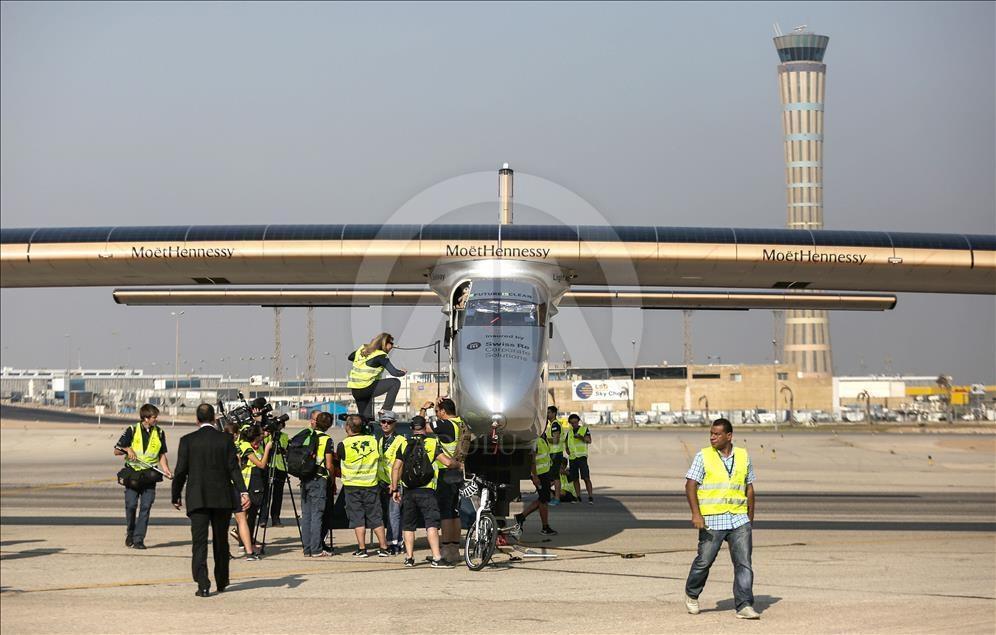 Solar Impulse 2 Mısır'da galerisi resim 1