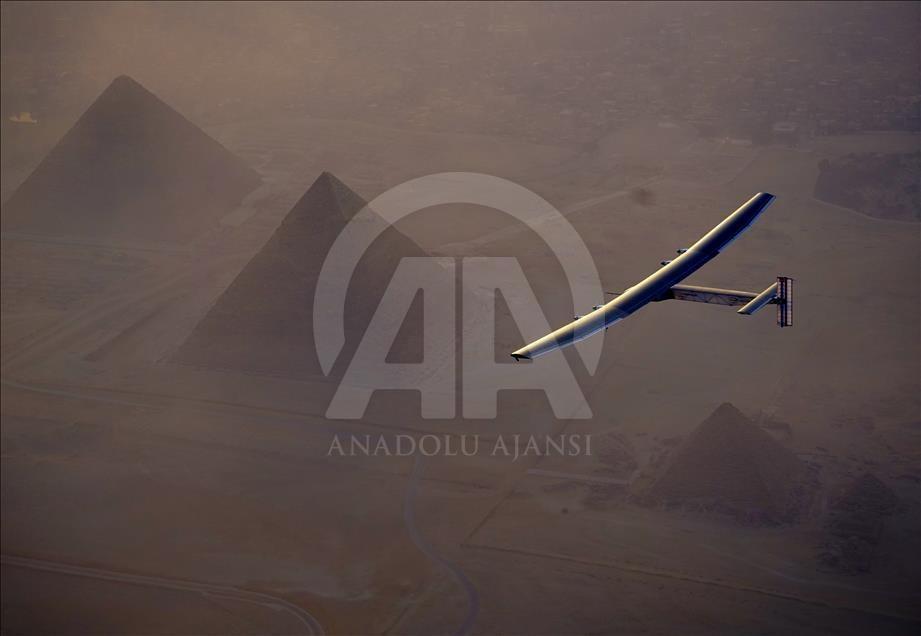 Solar Impulse 2 Mısır'da galerisi resim 2