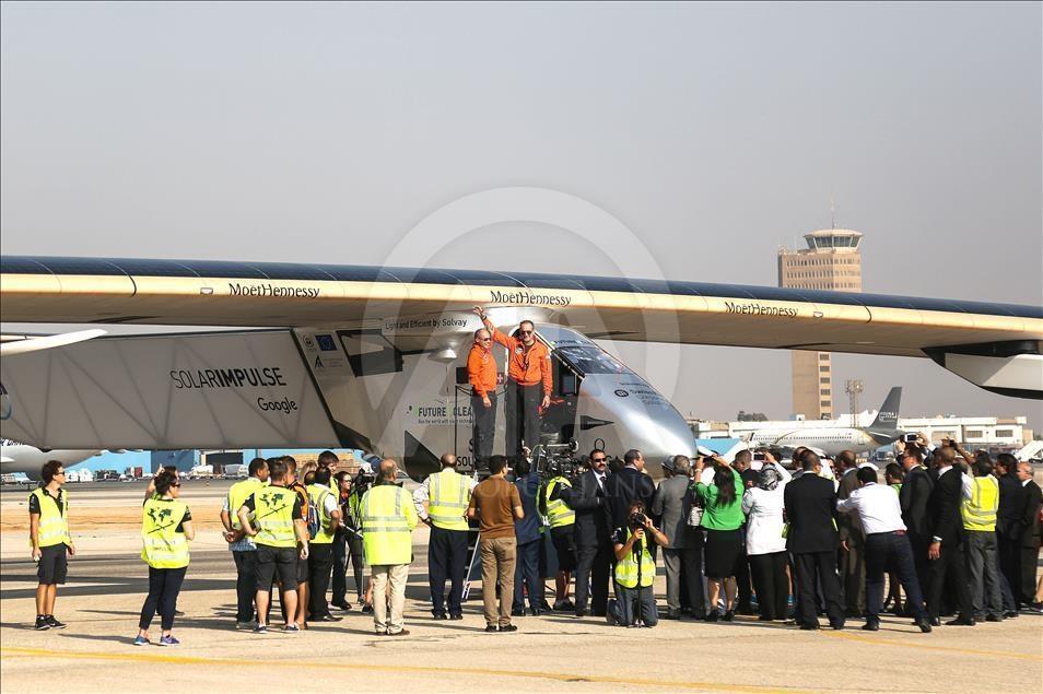Solar Impulse 2 Mısır'da galerisi resim 4