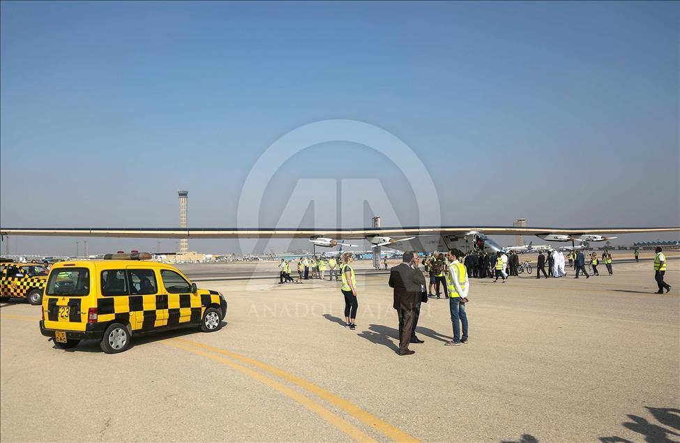 Solar Impulse 2 Mısır'da galerisi resim 5