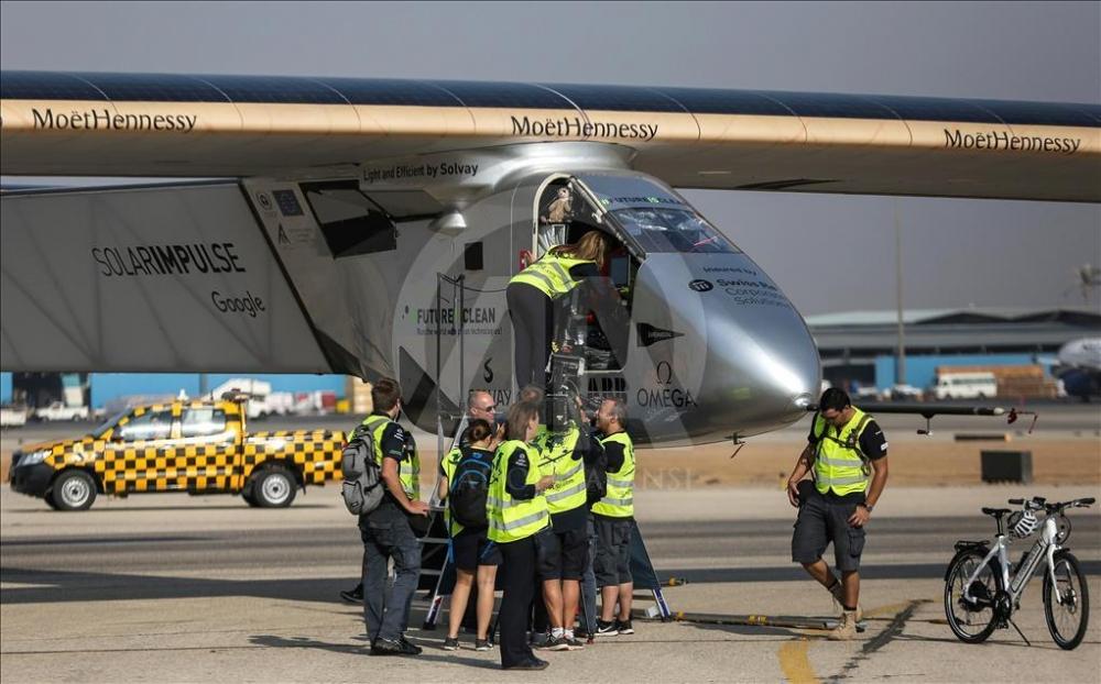 Solar Impulse 2 Mısır'da galerisi resim 6