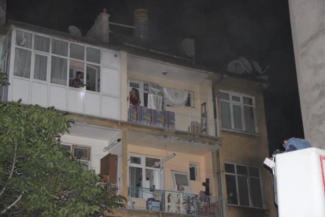 Konya'da yangında can pazarı galerisi resim 7
