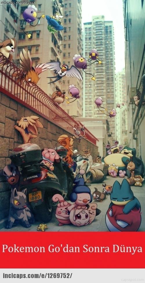 Pokemon Go çıktı, capsler patladı galerisi resim 8