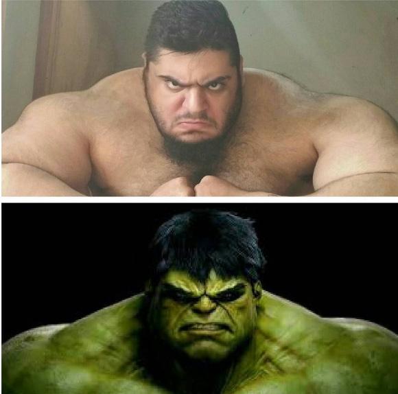 İranlı Hulk, tüm dikkatleri üzerine çekti galerisi resim 2