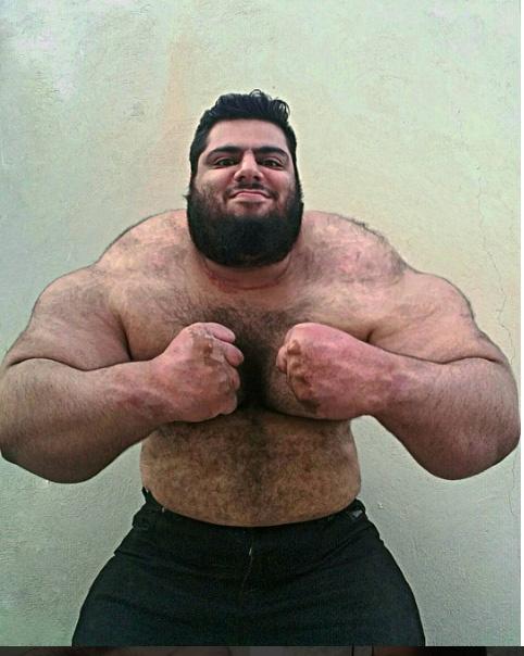 İranlı Hulk, tüm dikkatleri üzerine çekti galerisi resim 6