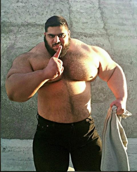 İranlı Hulk, tüm dikkatleri üzerine çekti galerisi resim 8
