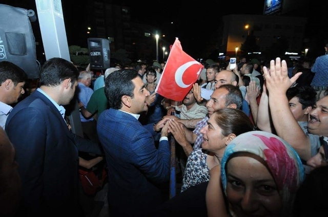 Konya'da darbe girşimine tepkiler galerisi resim 13