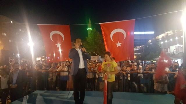 Konya'da darbe girşimine tepkiler galerisi resim 15