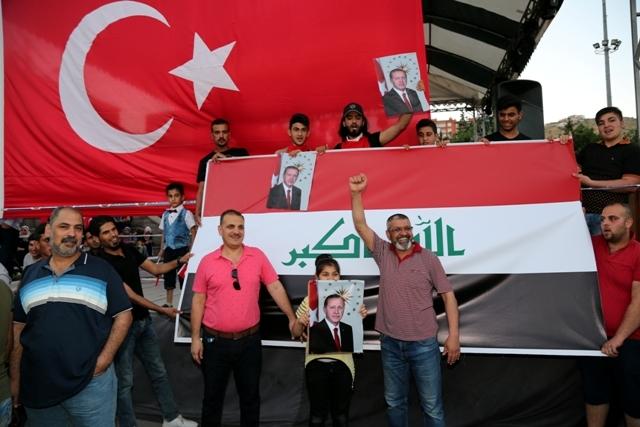 Konya'da darbe girşimine tepkiler galerisi resim 35