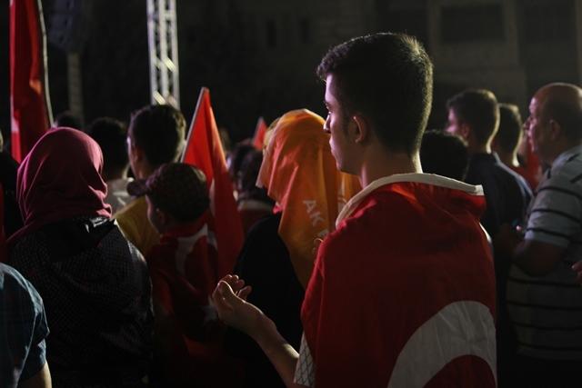 Konya'da darbe girşimine tepkiler galerisi resim 43