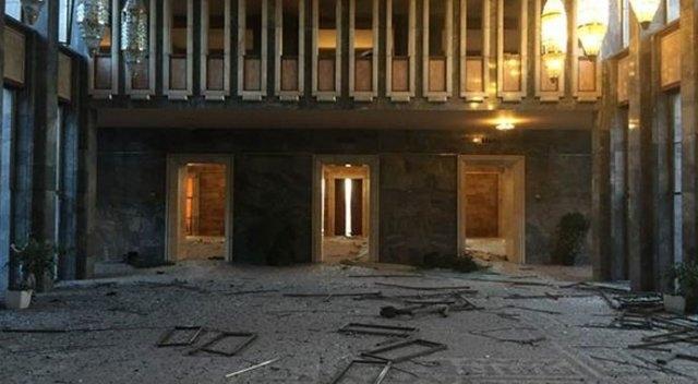 Meclisteki tahribatı herkes görecek galerisi resim 1