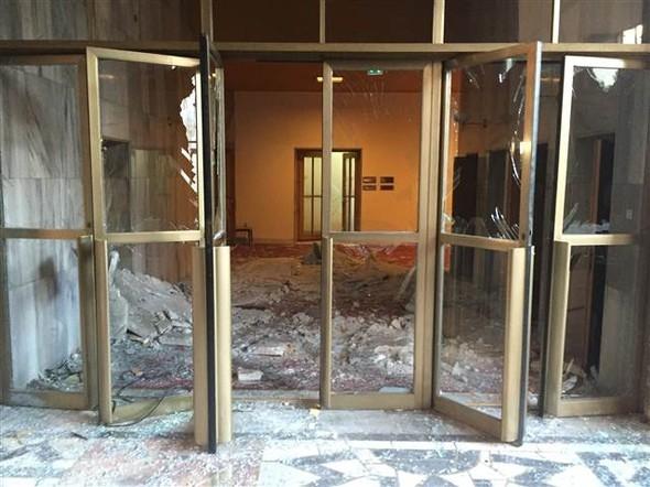 Meclisteki tahribatı herkes görecek galerisi resim 11