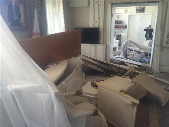 Meclisteki tahribatı herkes görecek galerisi resim 4