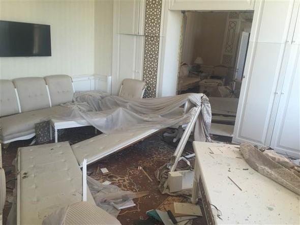 Meclisteki tahribatı herkes görecek galerisi resim 5