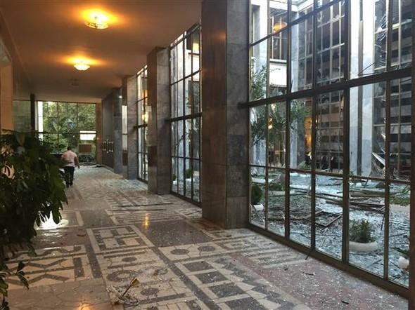 Meclisteki tahribatı herkes görecek galerisi resim 6