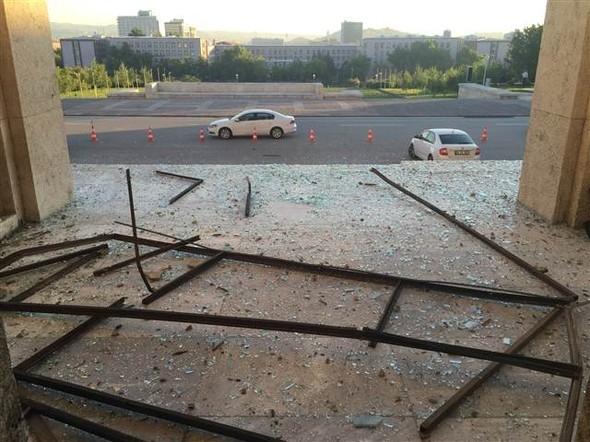 Meclisteki tahribatı herkes görecek galerisi resim 7