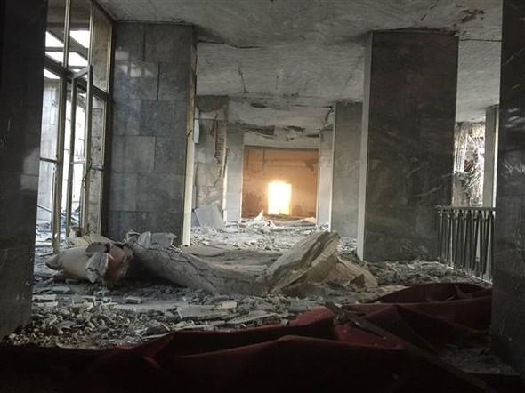 Meclisteki tahribatı herkes görecek galerisi resim 8