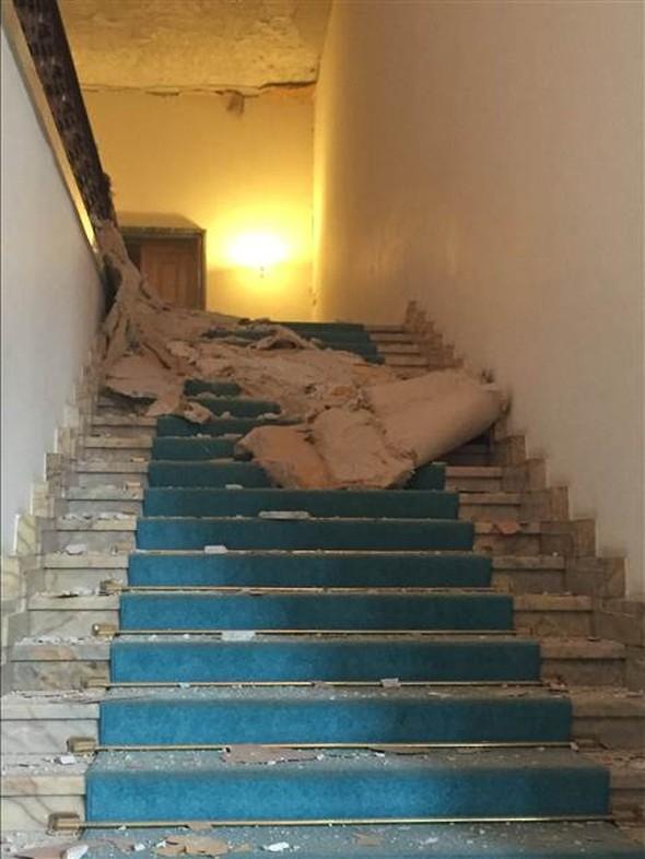 Meclisteki tahribatı herkes görecek galerisi resim 9