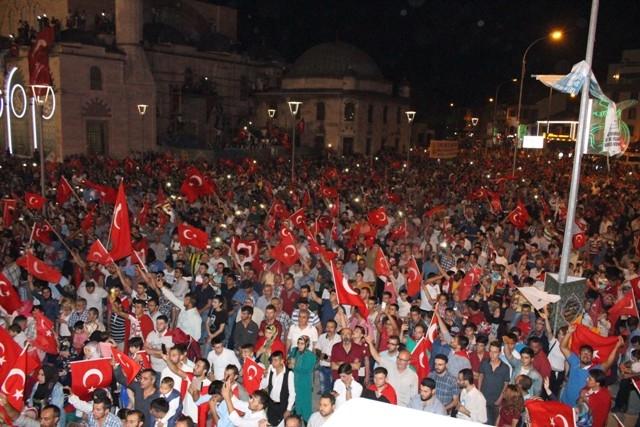 Konya'da demokrasi nöbeti galerisi resim 1