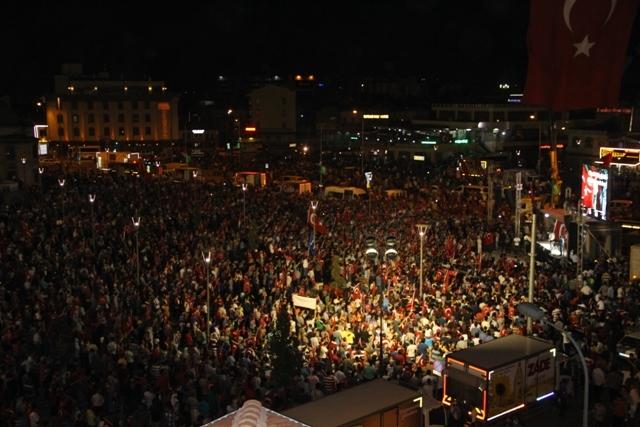 Konya'da demokrasi nöbeti galerisi resim 10