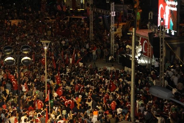 Konya'da demokrasi nöbeti galerisi resim 13