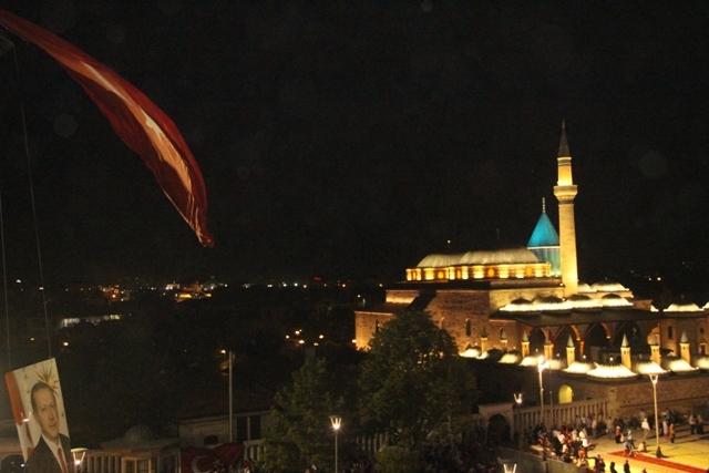 Konya'da demokrasi nöbeti galerisi resim 15