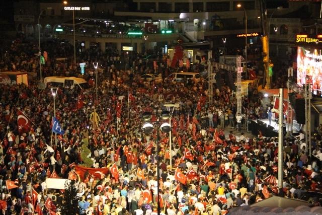 Konya'da demokrasi nöbeti galerisi resim 16