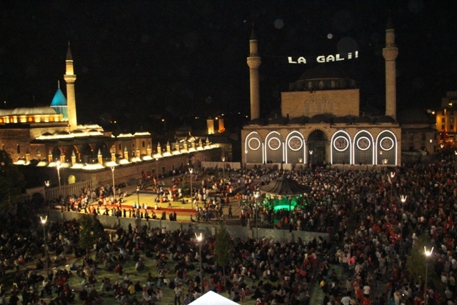 Konya'da demokrasi nöbeti galerisi resim 17
