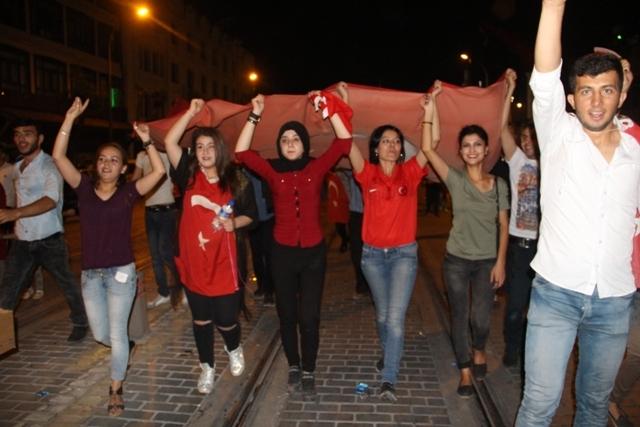 Konya'da demokrasi nöbeti galerisi resim 22