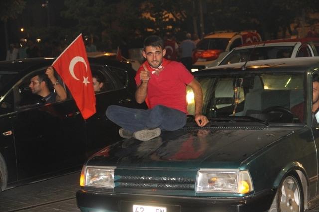 Konya'da demokrasi nöbeti galerisi resim 29