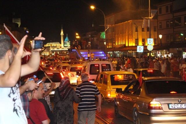 Konya'da demokrasi nöbeti galerisi resim 33