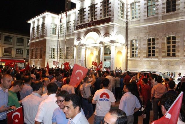 Konya'da demokrasi nöbeti galerisi resim 36