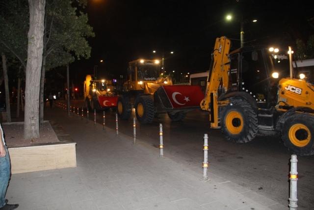Konya'da demokrasi nöbeti galerisi resim 4