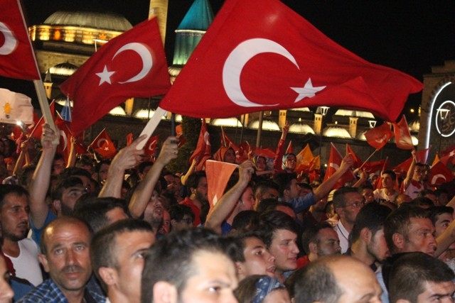 Konya'da demokrasi nöbeti galerisi resim 42